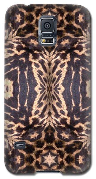 Cheetah Print Galaxy S5 Case by Maria Watt