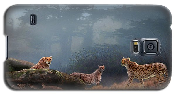 Cheetahs In The Mist Galaxy S5 Case