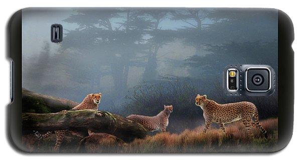 Cheetahs In The Mist Galaxy S5 Case