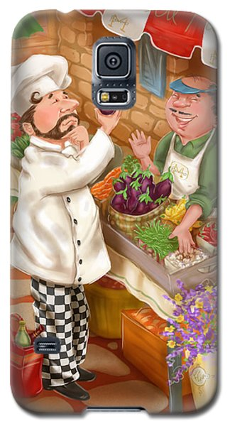 Chefs Go To Market I Galaxy S5 Case