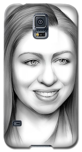 Chelsea Clinton Galaxy S5 Case by Greg Joens