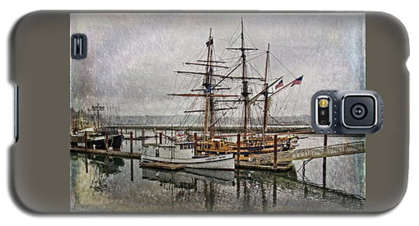 Chelsea Rose And Tall Ships Galaxy S5 Case