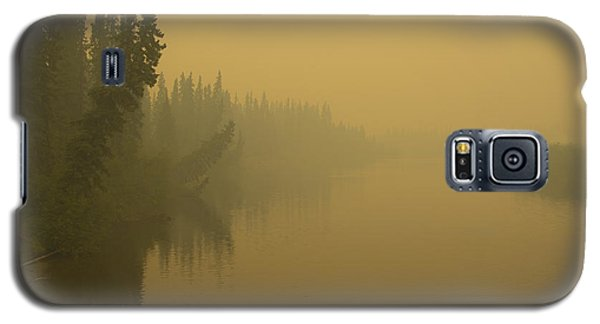 Galaxy S5 Case featuring the photograph Chena River by Gary Lengyel