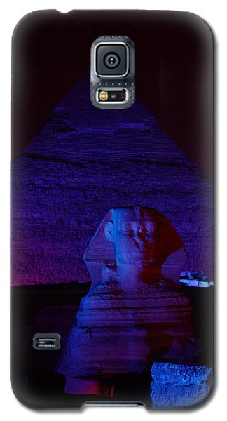 Cheops In Blue Galaxy S5 Case