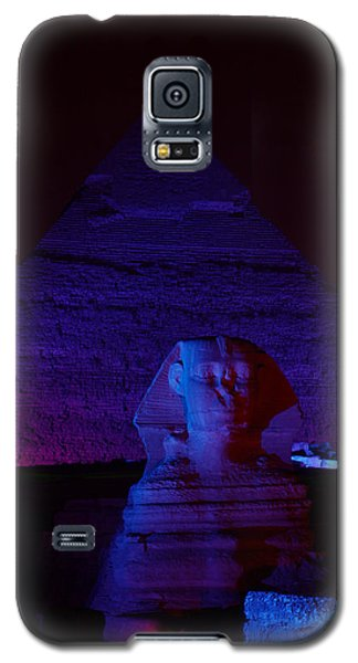 Cheops In Blue Galaxy S5 Case