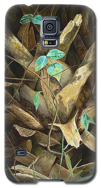 Galaxy S5 Case featuring the painting Cherished Boots by AnnaJo Vahle