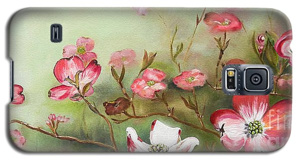 Cherokee Dogwood - Brave- Blushing Galaxy S5 Case
