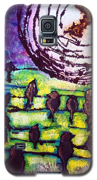 Cherokee Father Fly Away Home Galaxy S5 Case by Laura  Grisham
