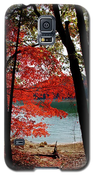 Galaxy S5 Case featuring the photograph Cherokee Lake Color by Douglas Stucky