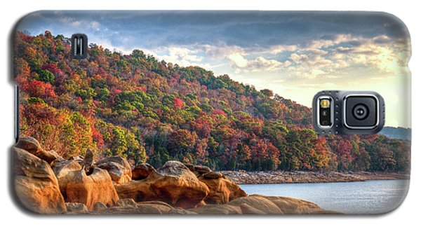 Galaxy S5 Case featuring the photograph Cherokee Lake Color II by Douglas Stucky