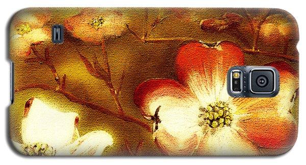 Cherokee Rose Dogwood - Glow Galaxy S5 Case