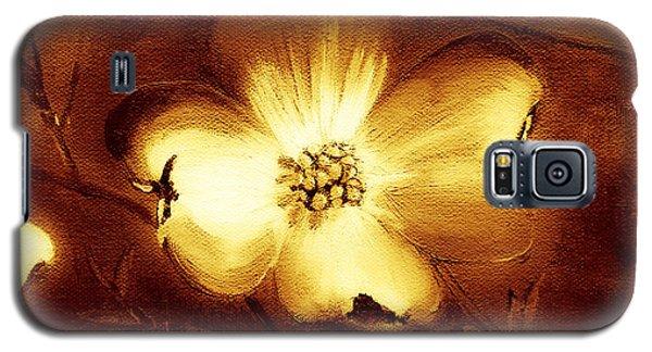 Cherokee Rose Dogwood - Single Glow Galaxy S5 Case by Jan Dappen