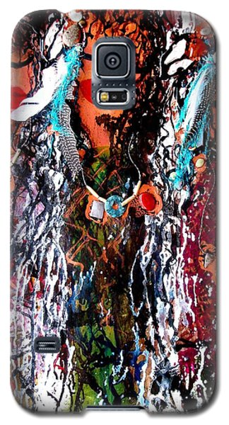 Cherokee Trail Of Tears  Galaxy S5 Case by Laura  Grisham