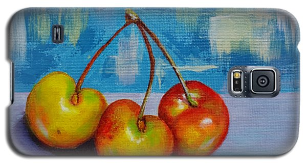 Cherries Trio Galaxy S5 Case