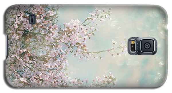 Galaxy S5 Case featuring the photograph Cherry Blossom Dreams by Linda Lees