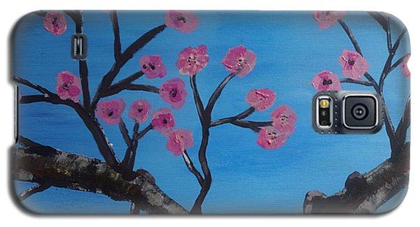 Cherry Blossoms II Galaxy S5 Case