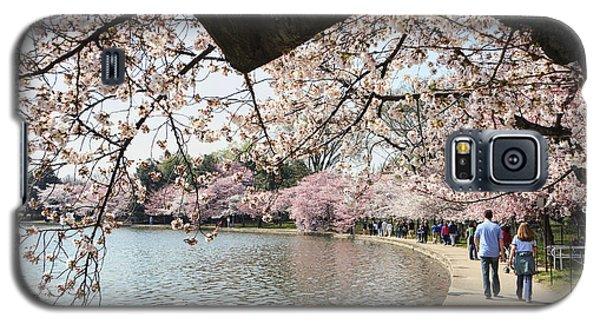 Cherry Blossom Stroll Around The Tidal Basin Galaxy S5 Case