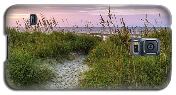 Cherry Grove Beach Scene Galaxy S5 Case
