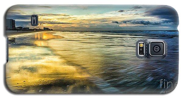Cherry Grove Golden Shimmer Galaxy S5 Case