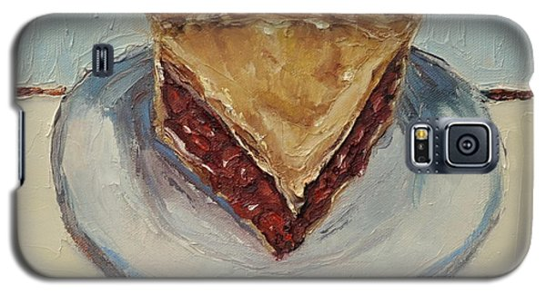 Galaxy S5 Case featuring the painting Cherry Pie by Lindsay Frost