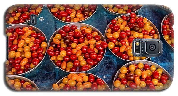 Cherry Tomatoes In Lyon Market Galaxy S5 Case