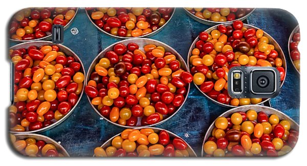 Cherry Tomatoes In Lyon Market Galaxy S5 Case