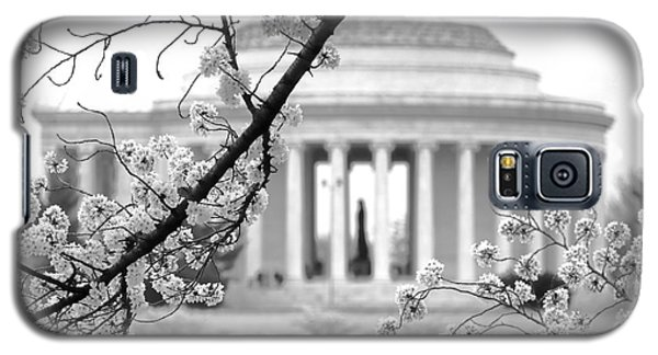 Cherry Tree And Jefferson Memorial Elegance  Galaxy S5 Case