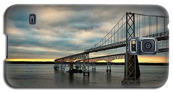 Chesapeake Bay Bridge At Twilight Galaxy S5 Case