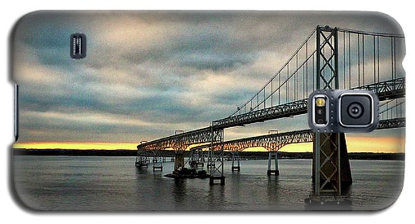 Chesapeake Bay Bridge At Twilight Galaxy S5 Case