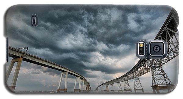 Chesapeake Bay Bridge Storm Galaxy S5 Case