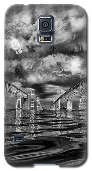 Chesapeake Bay Bw Galaxy S5 Case