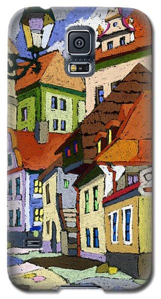 Chesky Krumlov Masna Street 1 Galaxy S5 Case by Yuriy  Shevchuk