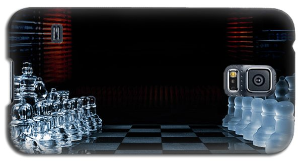 Galaxy S5 Case featuring the photograph Chess Game Performed By Artificial Intelligence by Christian Lagereek