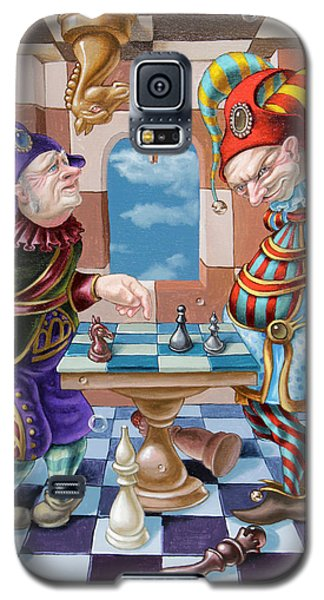 Chess Players Galaxy S5 Case