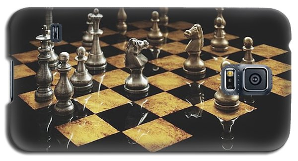 Chess The Art Game Galaxy S5 Case by Sheila Mcdonald