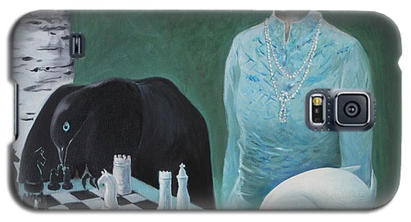 Chess - The Queen Waits Galaxy S5 Case