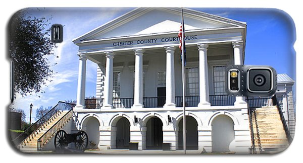 Chester South Carolina Court House Day 1 Galaxy S5 Case