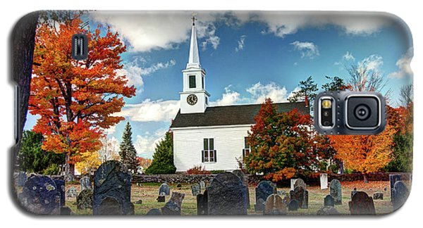 Chester Village Cemetery In Autumn Galaxy S5 Case