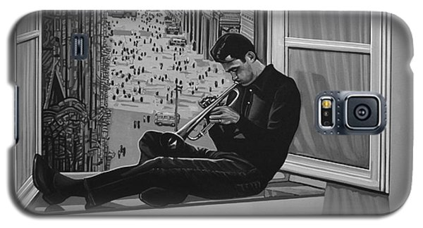 Music Galaxy S5 Case - Chet Baker by Paul Meijering