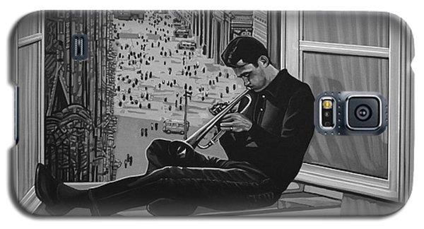Music Galaxy S5 Case - Chet Baker by Paul Meijering