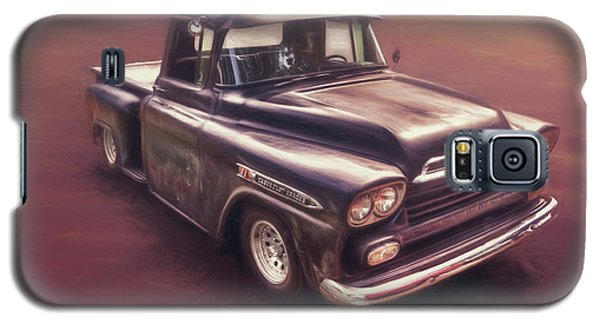 Truck Galaxy S5 Case - Chevrolet Apache Pickup by Scott Norris