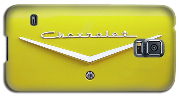Chevrolet Bel Air In Yellow Galaxy S5 Case by Toni Hopper