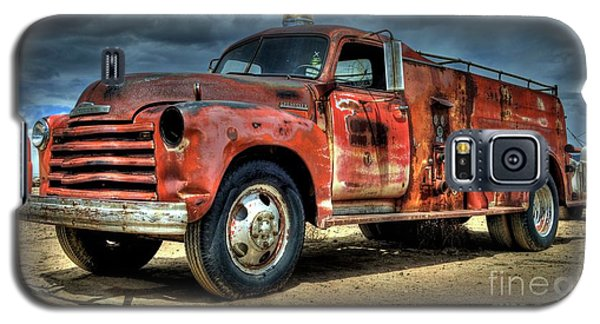 Chevrolet Fire Truck Galaxy S5 Case