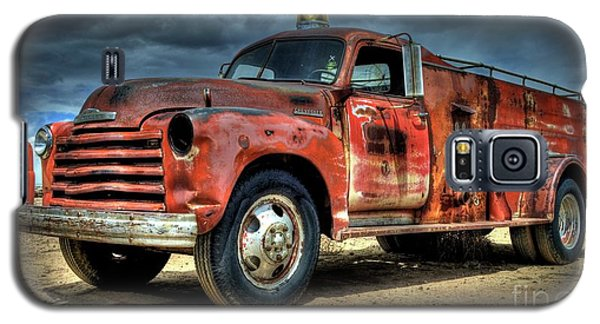 Chevrolet Fire Truck Galaxy S5 Case