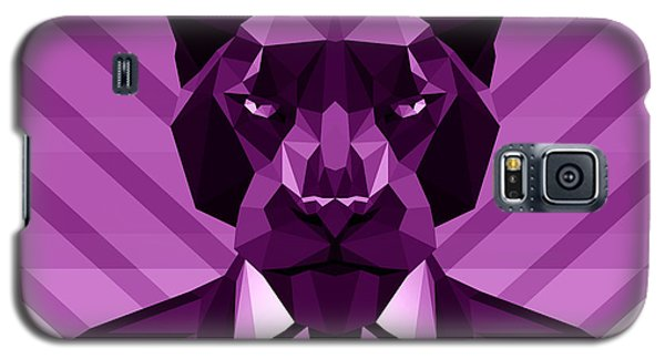 Chevron Panther Galaxy S5 Case by Gallini Design