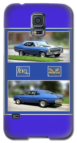 Chevy Nova Vertical  Galaxy S5 Case