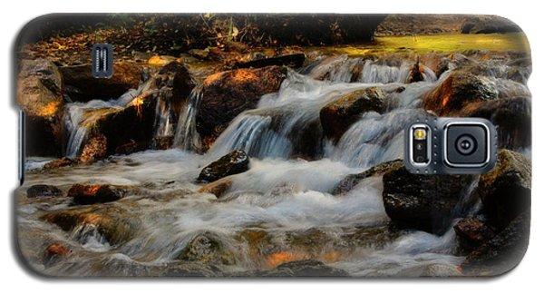 Galaxy S5 Case featuring the photograph Cheyenne Canyon Autumn by Ellen Heaverlo