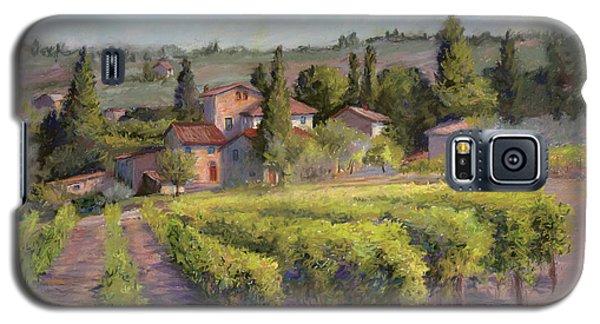 Galaxy S5 Case featuring the painting Chianti Vineyard by Vikki Bouffard