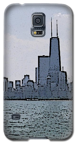 Galaxy S5 Case featuring the photograph Chicago Across Lake Michigan by Skyler Tipton