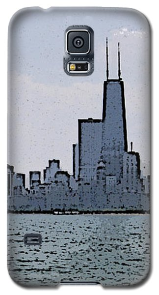 Chicago Across Lake Michigan Galaxy S5 Case by Skyler Tipton